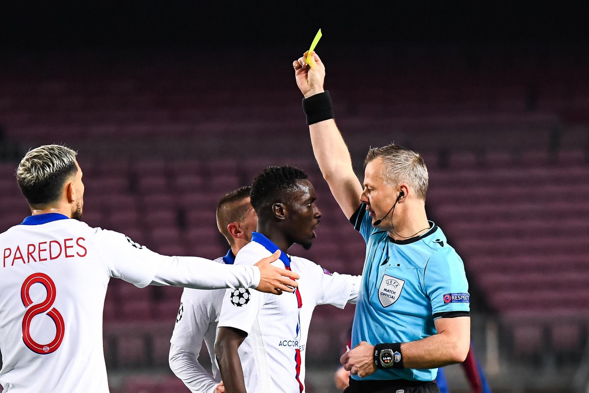 PSG/Saint-Etienne - Gueye et Paredes logiquement suspendus