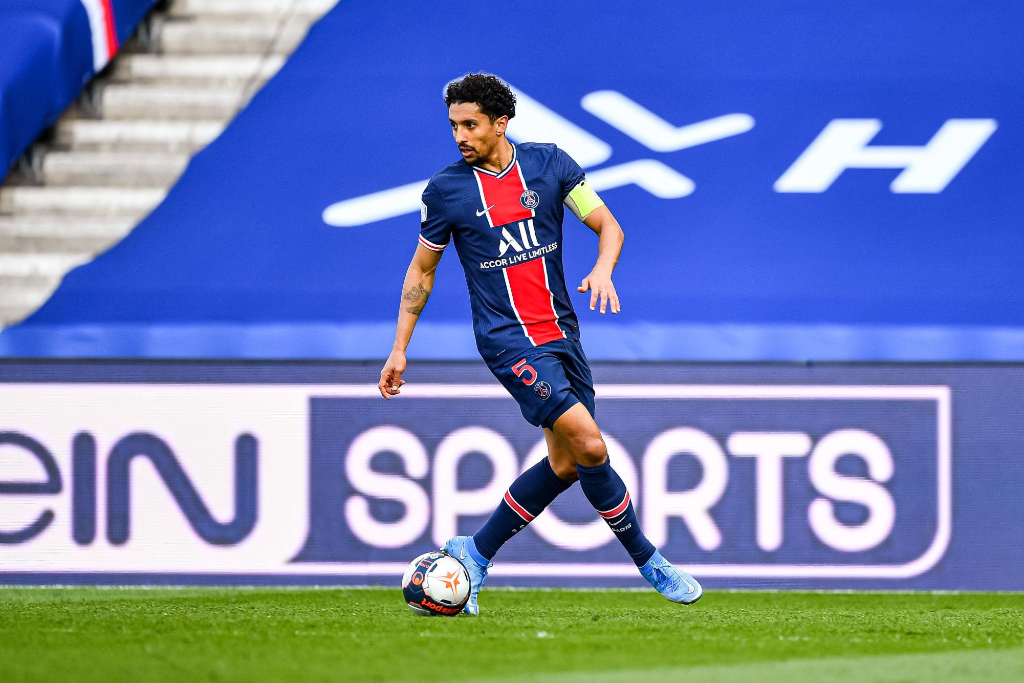 """PSG/Lille - Marquinhos s'agace """"Chaque fois qu'on perd, on dit la même chose."""""""