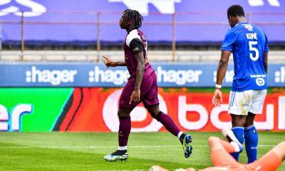 """Strasbourg/PSG - Kean évoque une victoire """"qui fait du bien"""" et son état de forme"""