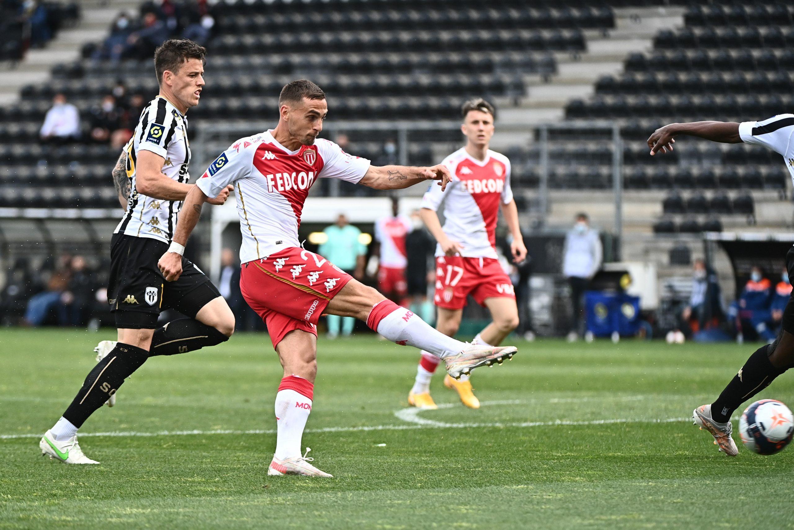 Ligue 1 - Monaco s'impose à Angers et passe provisoirement 2e