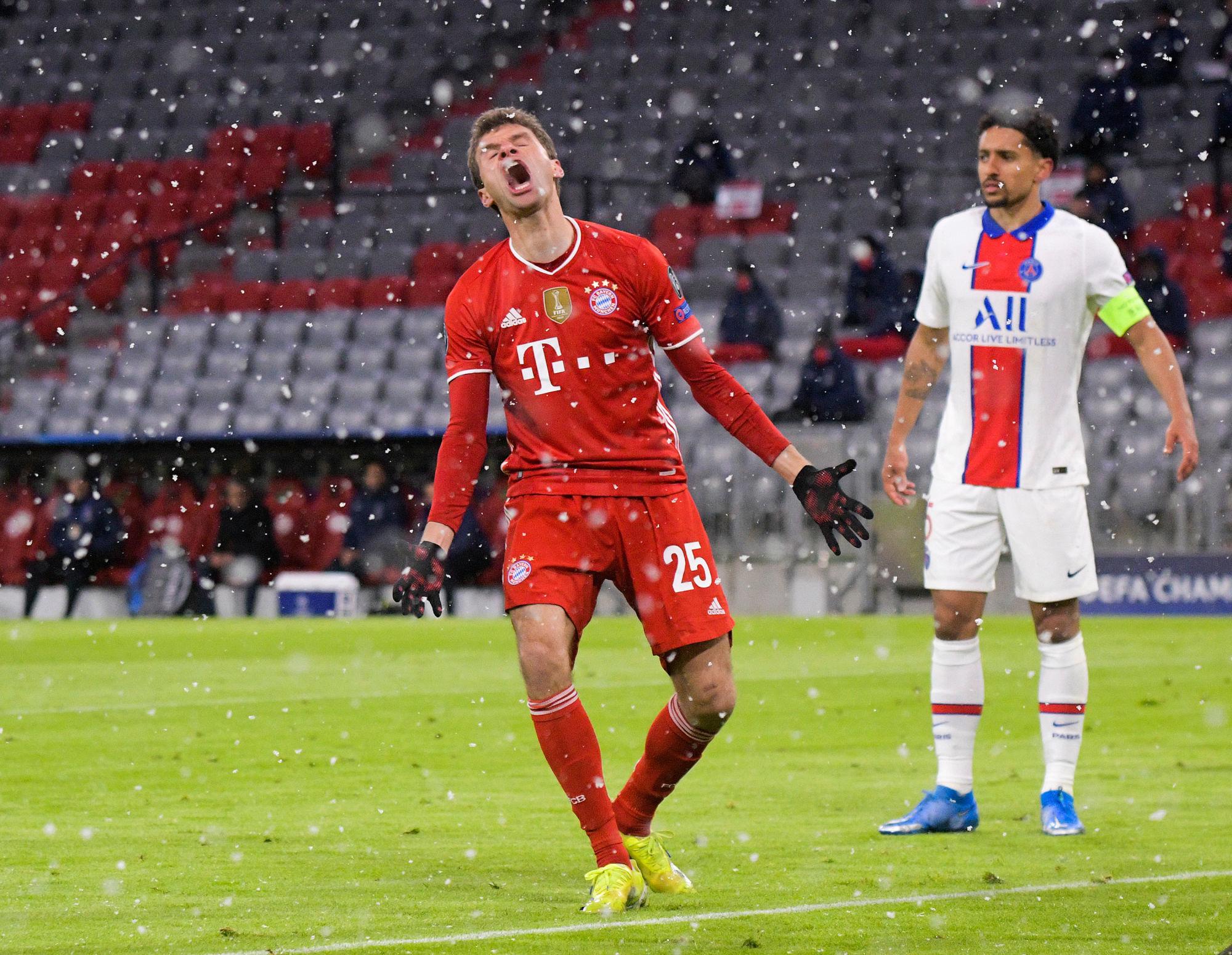Bayern/PSG - Müller revient sur le manque de réalisme de son équipe