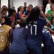 Lyon/PSG – Revivez les célébrations parisiennes au plus près des joueuses