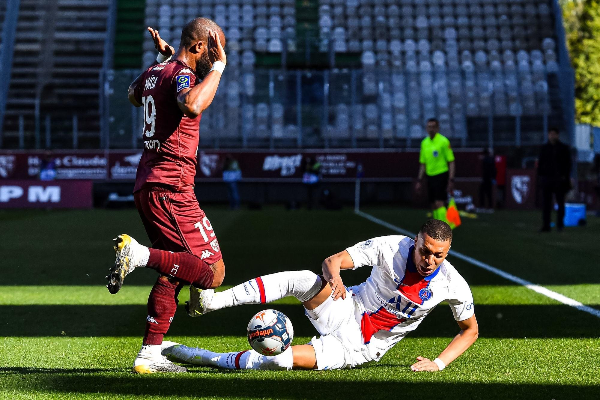 """Metz/PSG - Maïga """"On a eu du mal à entrer dans le match"""""""