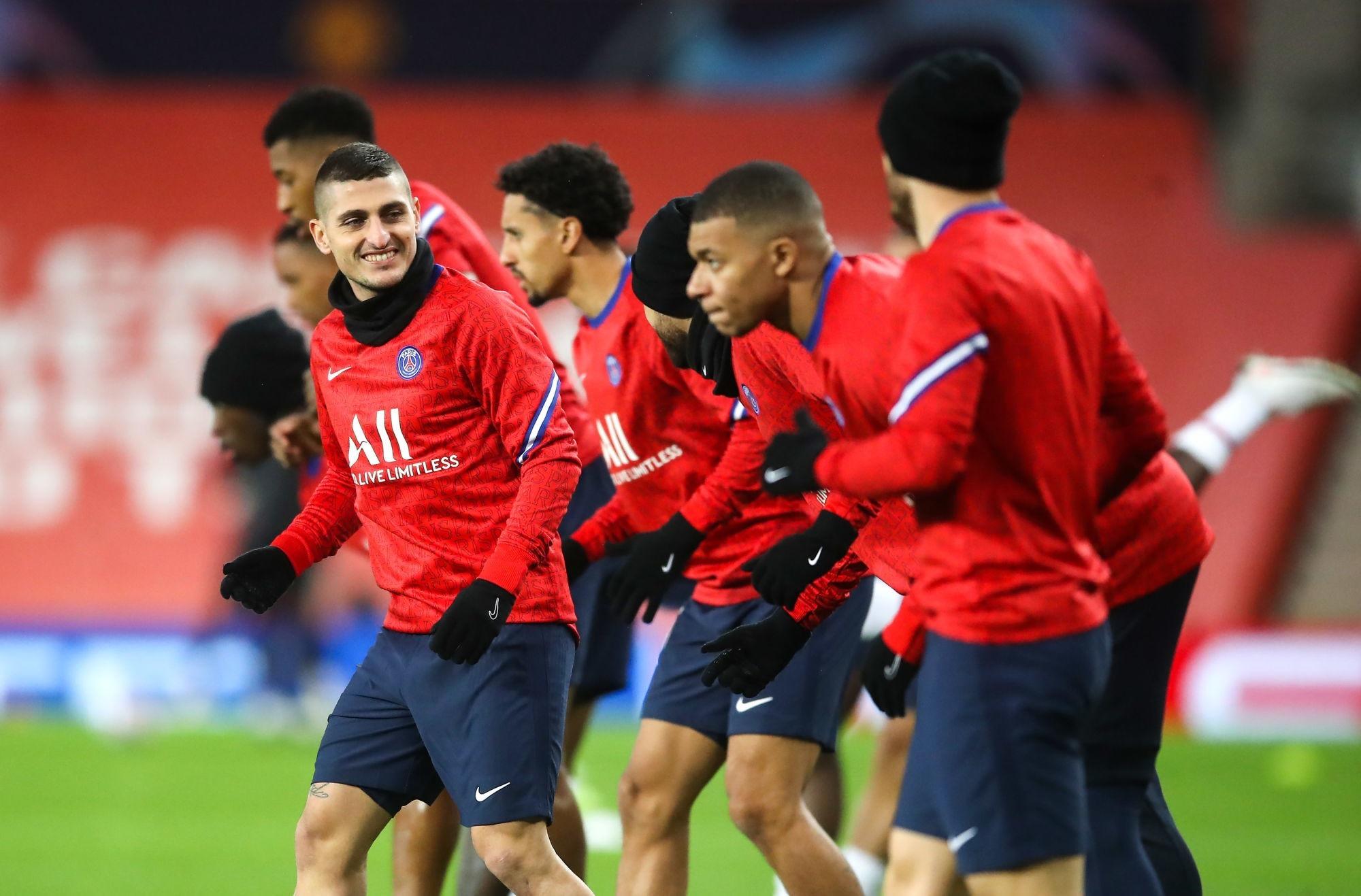 Verratti, Marquinhos, Florenzi et Diallo, L'Equipe fait le point en vue de PSG/City