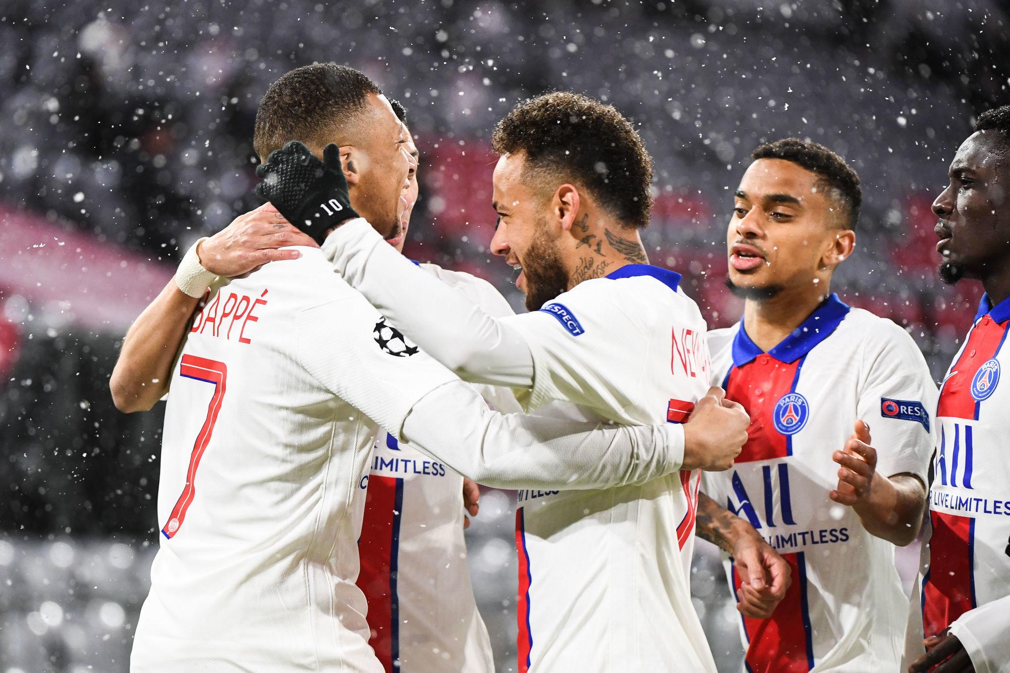 Les images du PSG ce mercredi: Victoire collective face au Bayern