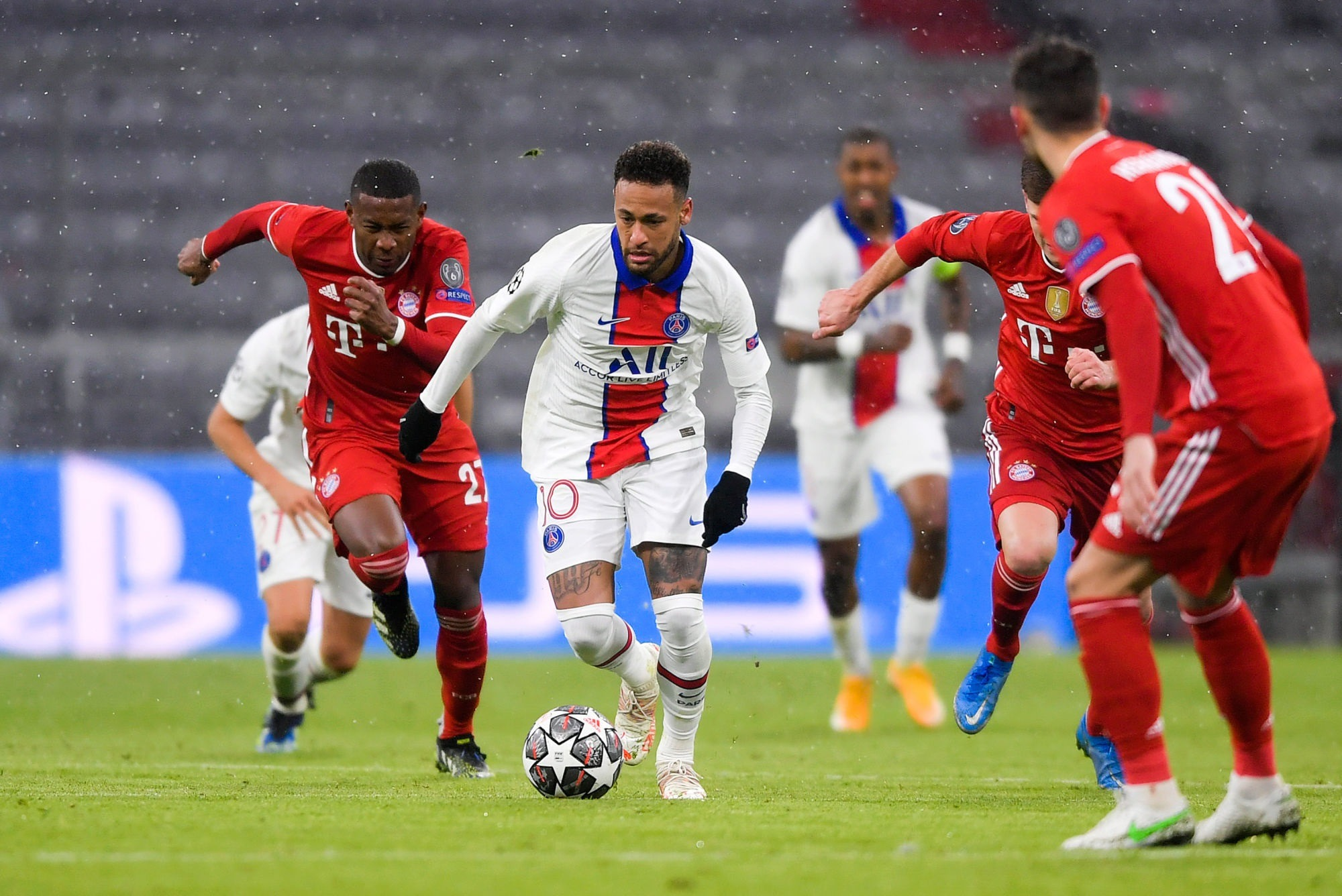 """Bayern/PSG - Garétier encense l'attitude de Neymar, mais """"la Ligue 1 ne l'intéresse pas"""""""