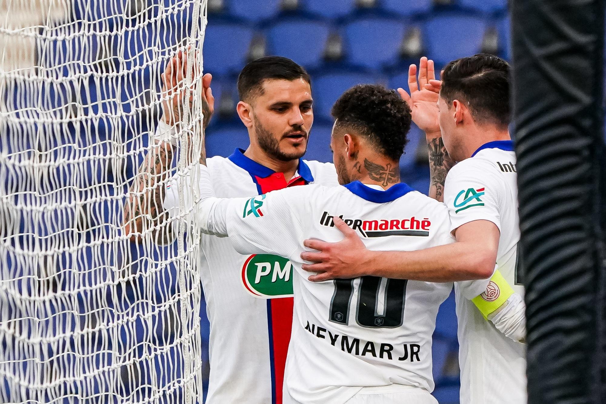 PSG/Angers - Les notes des Parisiens après la qualification, l'attaque a brillé