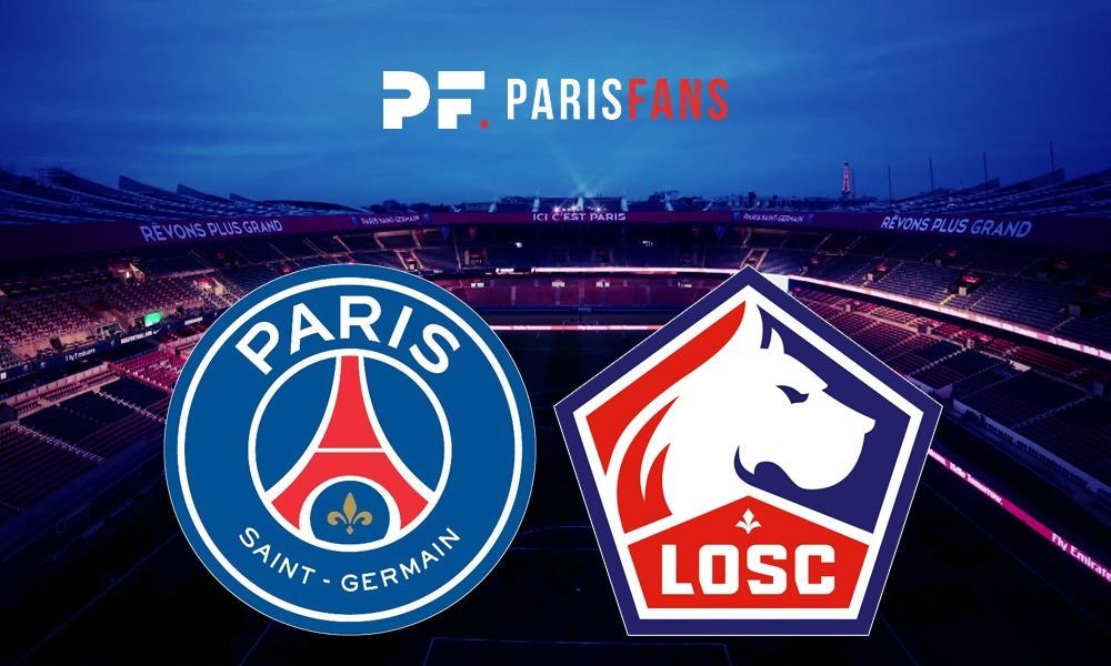 PSG/Lille - Le groupe lillois : 20 joueurs, 2 absents