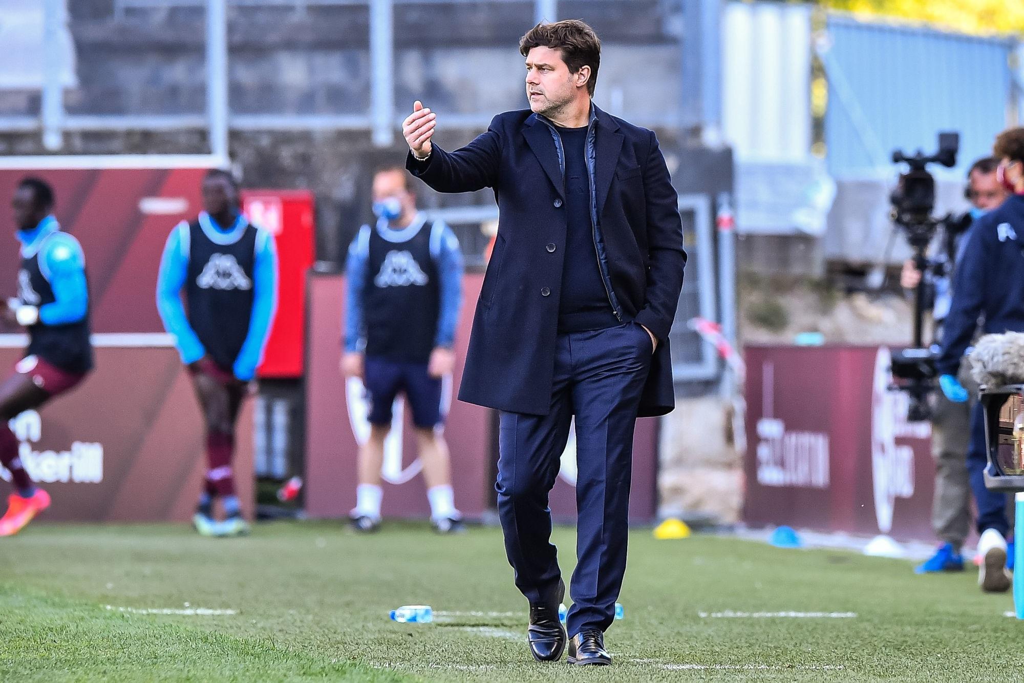 Metz/PSG - Pochettino évoque Mbappé, Verratti et le retour de Marquinhos