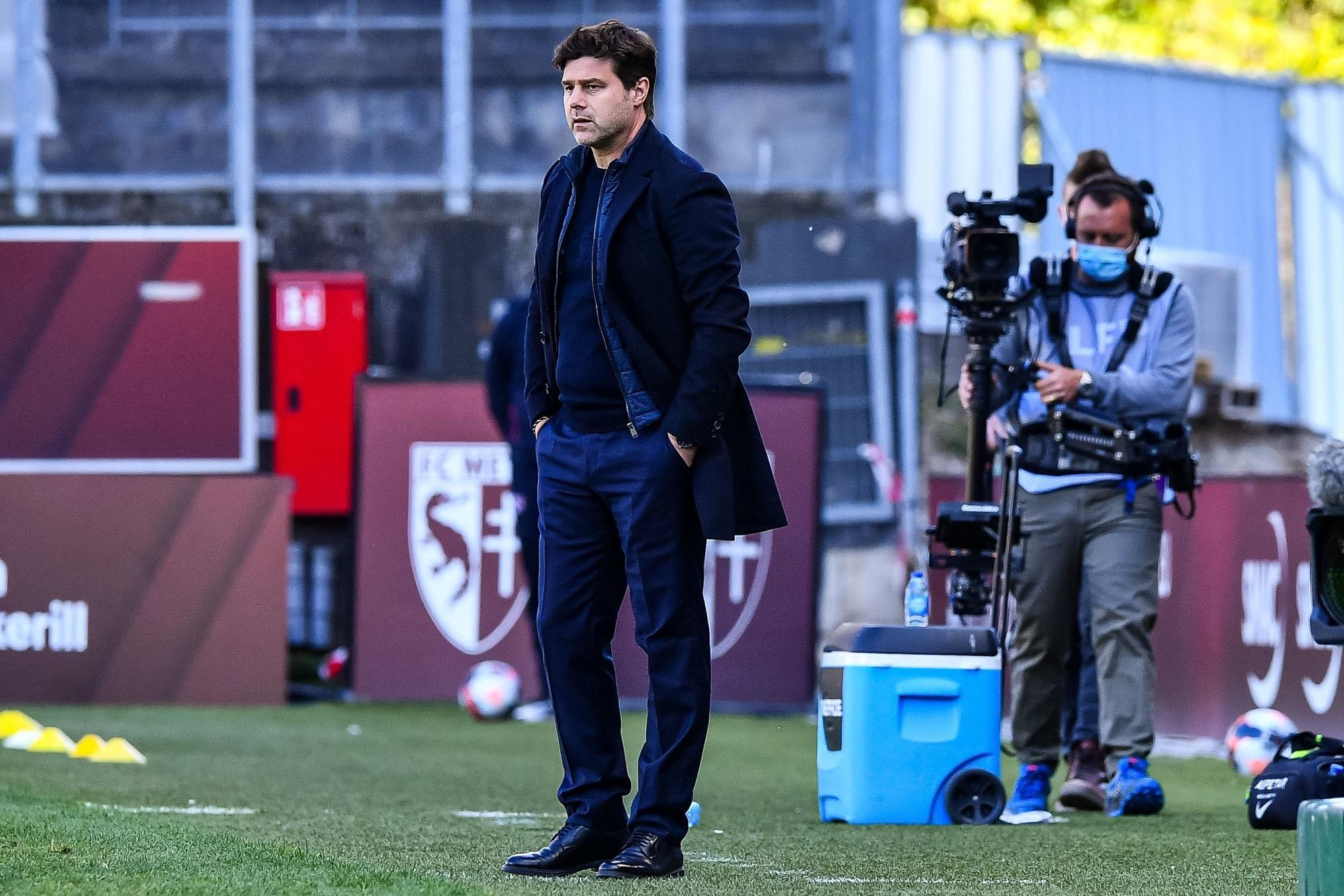 MetzPSG - Pochettino évoque Mbappé, la victoire et Manchester City