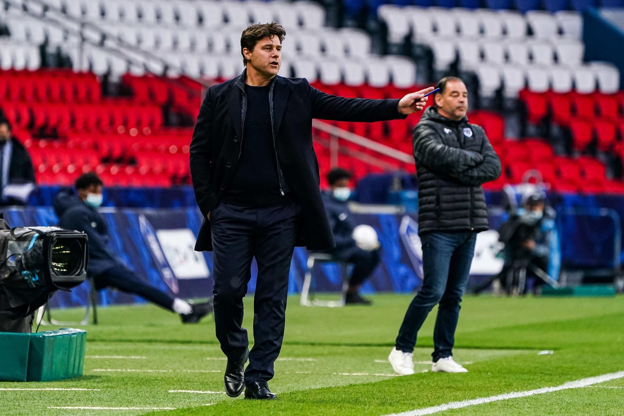 """PSG/Angers - Pochettino est """"heureux"""" même s'il y a """"des habitudes que nous devons changer"""""""