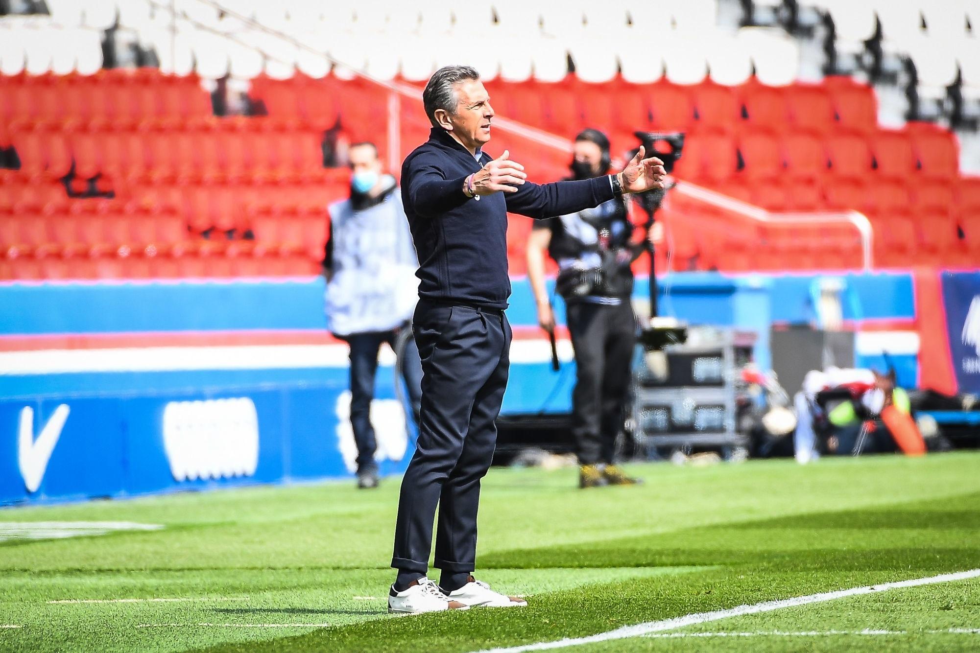 """PSG/Saint-Etienne - Puel """"avec un peu plus de métier on pouvait ramener au moins un point."""""""