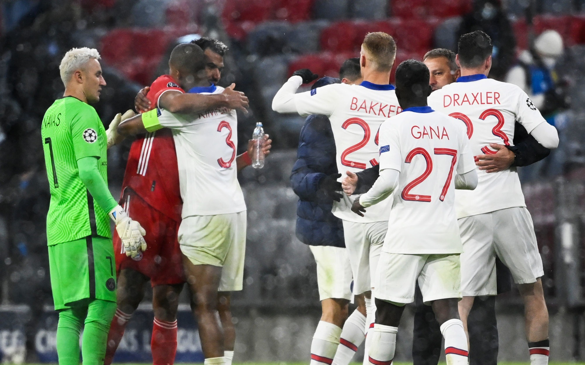 """Bayern/PSG - Jallet félicite une """"solidarité incroyable"""", Gueye et Navas"""