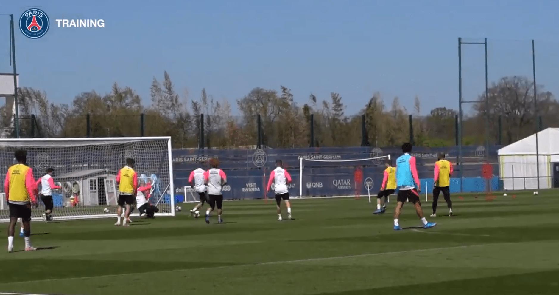 Metz/PSG - Retrouvez des extraits du dernier entraînement des Parisiens