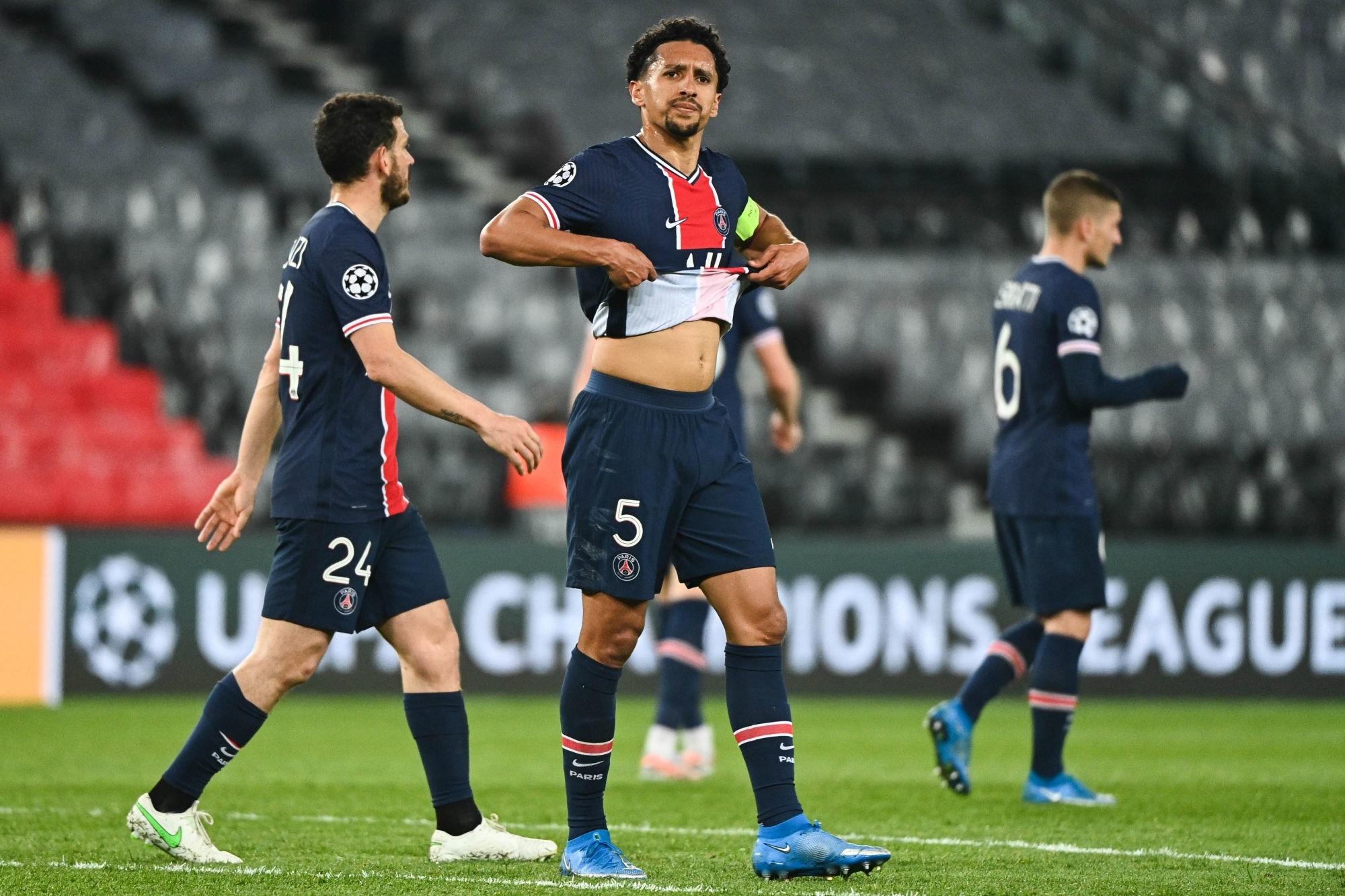 PSG/City - Marquinhos élu meilleur joueur de la défaite par les supporters parisiens