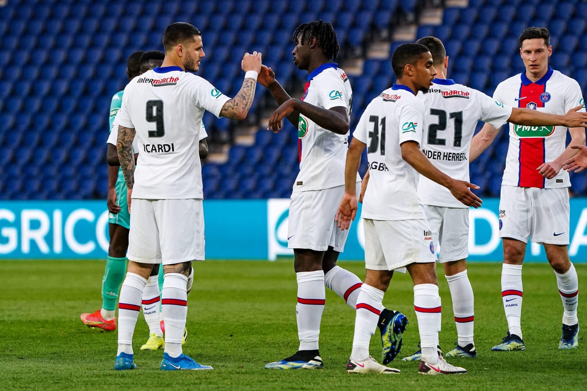 PSG/Angers - Les notes des Parisiens dans la presse : Icardi joueur du match