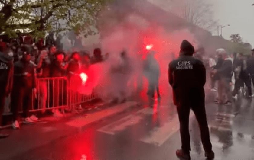 PSG/City - Les encouragements des supporters parisiens en vidéo !