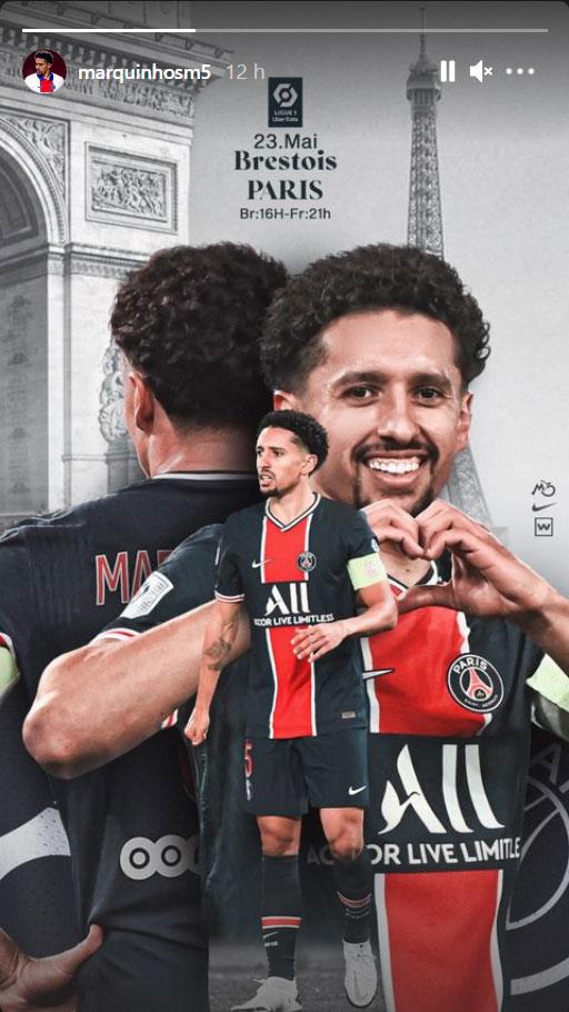 Les images du PSG ce dimanche: Victoire à Brest, trophées UNFP et perte du titre