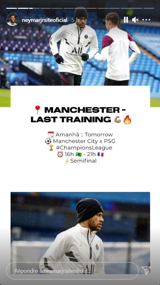 Les images du PSG ce lundi: déplacement et conférence de presse avant Manchester City