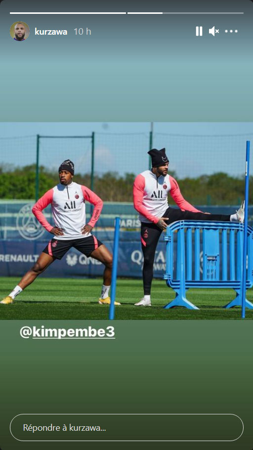 Les images du PSG ce vendredi: préparation avant Rennes/PSG