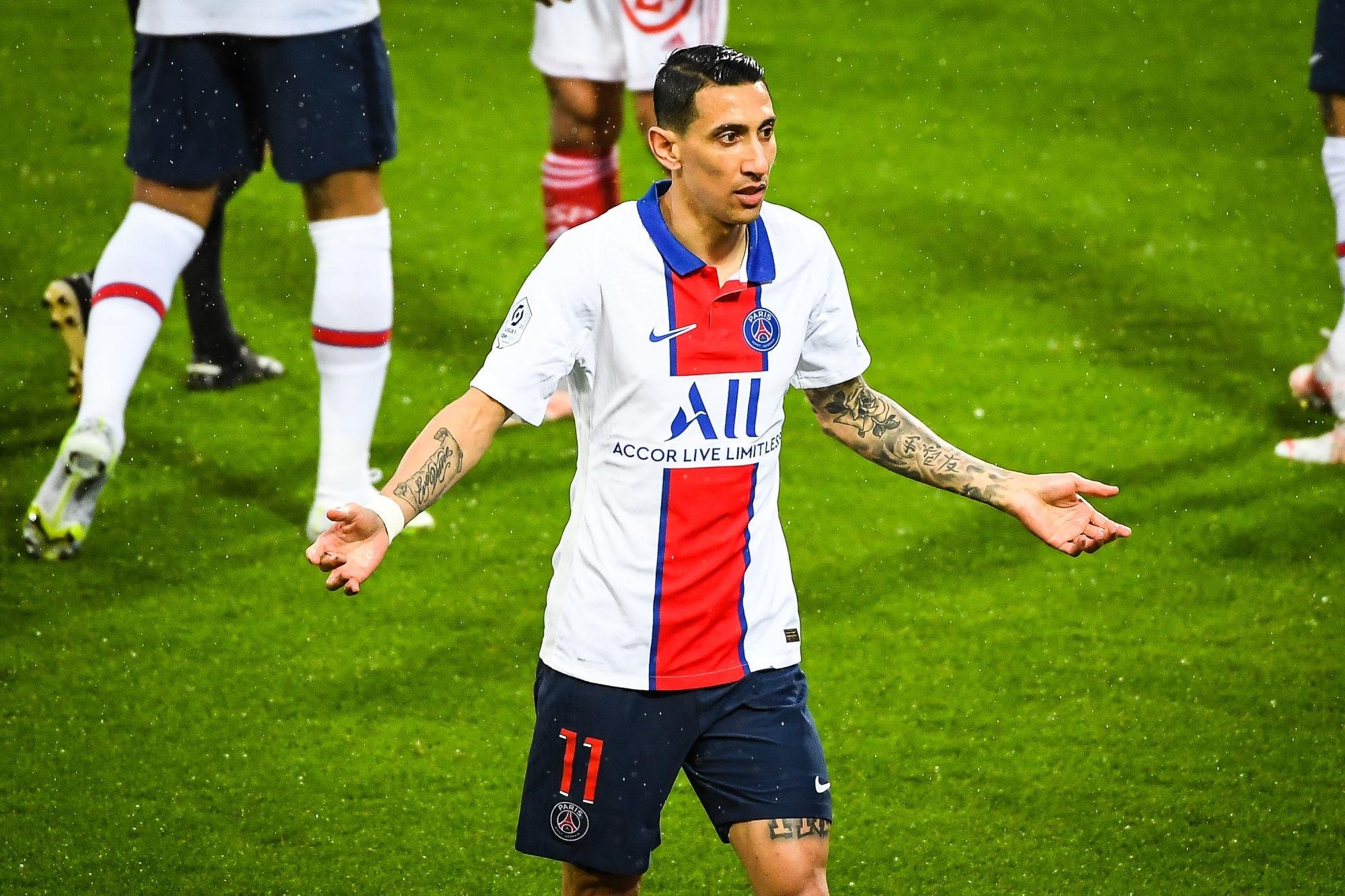 """Brest/PSG - Di Maria veut surtout """"se projeter sur la saison prochaine"""""""