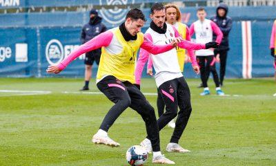 Les images du PSG ce jeudi: Préparation pour Rennes/Paris et anniversaire d'Alves