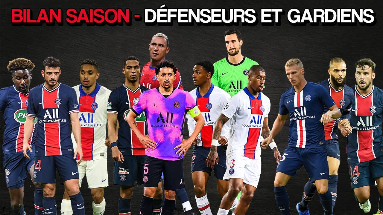 Podcast PSG - Défenseurs et gardiens, qui a réussi sa saison ? Le bilan
