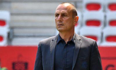 """Montpellier/PSG - Der Zakarian se dit fier de son équipe contre un """"adversaire plus fort"""""""