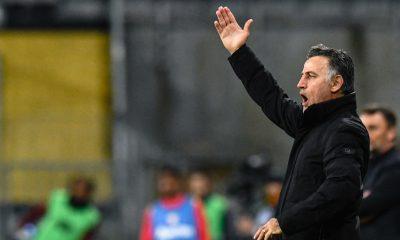 """Ligue 1 - Galtier évoque de la """"crispation"""" contre Saint-Etienne et veut gagner à Angers"""