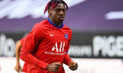 """Rennes/PSG - Kean souligne que """"l'équipe était bien"""" qu'ils vont se donner à 100% pour finir 1er"""