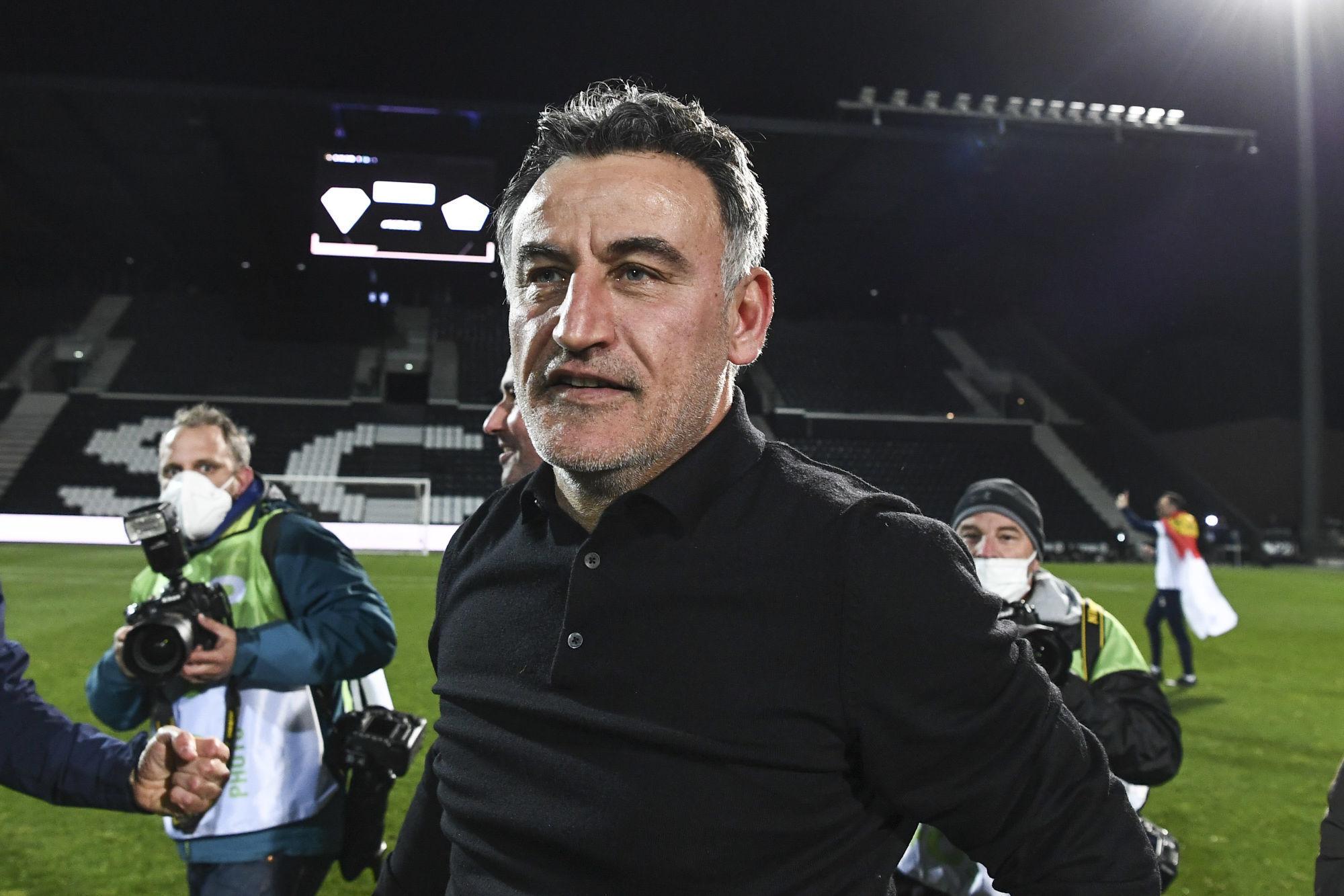 """Ligue 1 - Galtier fier de ses joueurs souligne la """"saison extraordinaire"""" de Lille"""