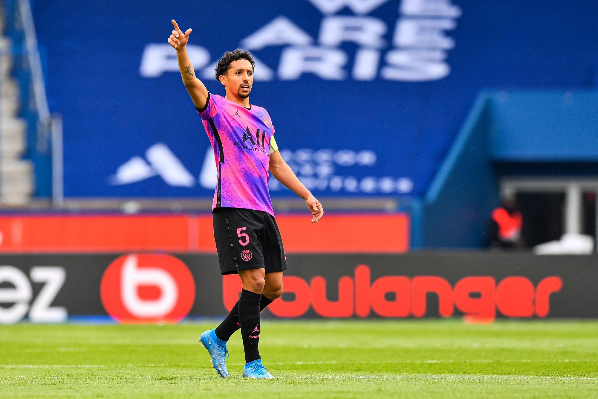PSG/Lens - Marquinhos élu meilleur joueur par les supporters parisiens