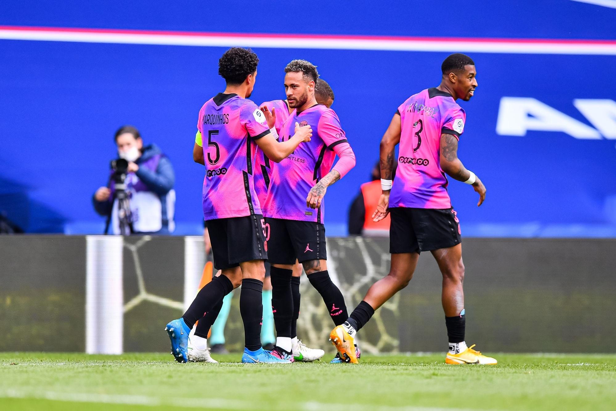Ligue 1 - 2 joueurs du PSG dans l'équipe-type de la 35e journée de L'Equipe