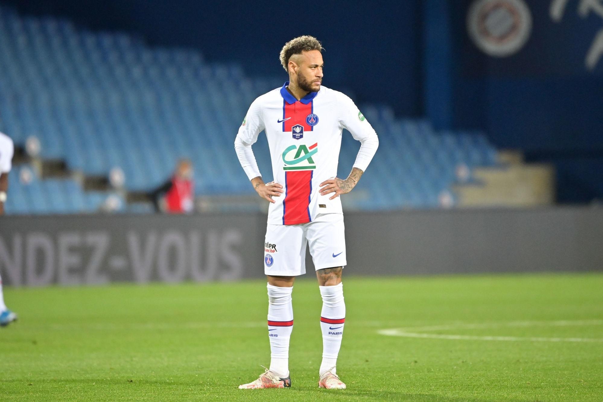 Neymar réagit à sa suspension pour la finale PSG/Monaco en Coupe de France