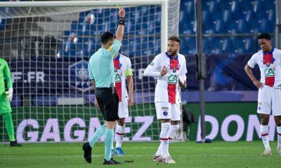 Neymar pourrait bien être suspendu en finale de Coupe de France, explique RMC Sport