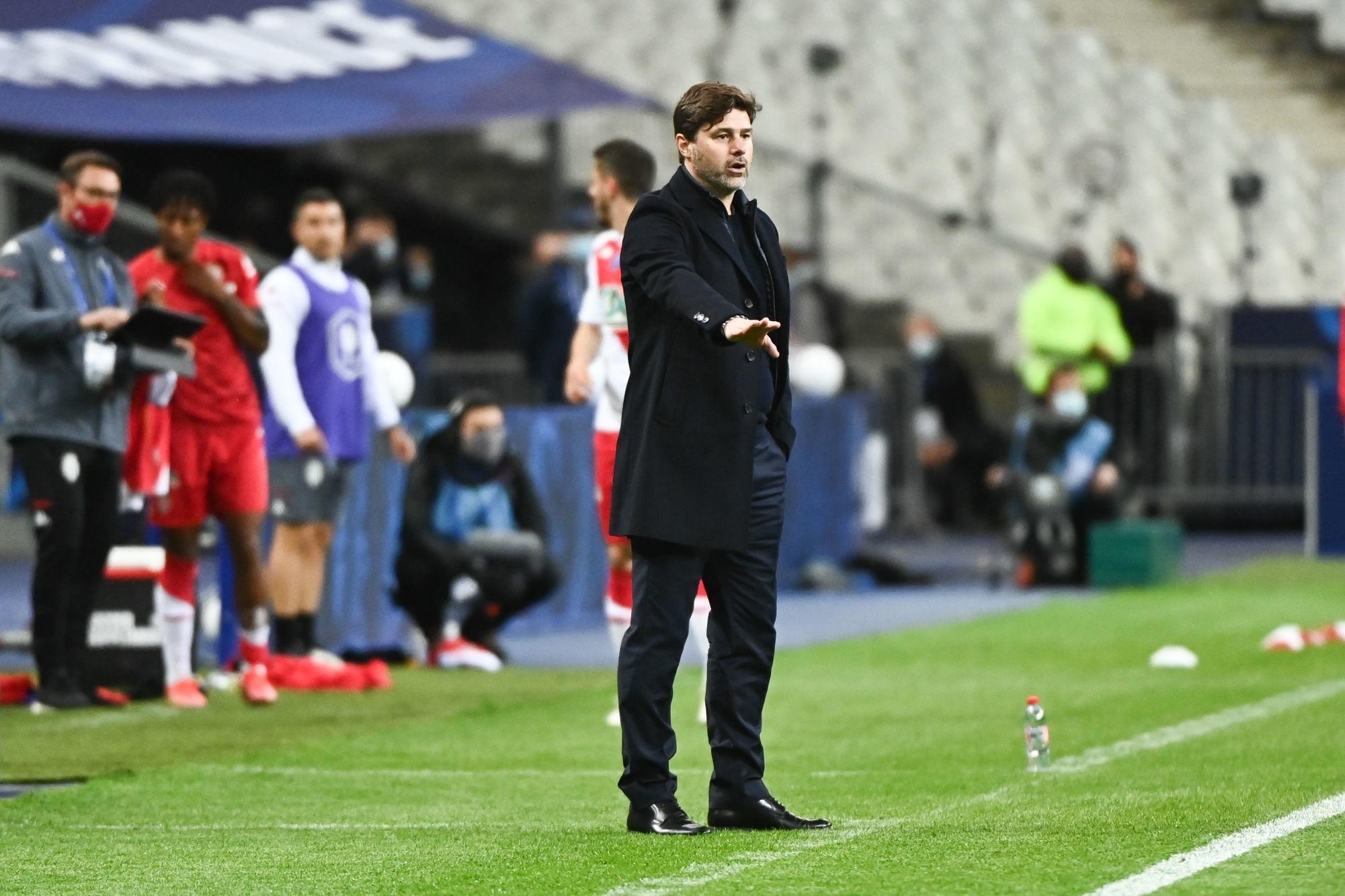 """Monaco/PSG - Pochettino """"L'équipe a compris ce qu'il fallait faire pour gagner"""""""
