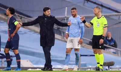 """City/PSG - Pochettino évoque la manque de """"chance"""", le rouge et les """"erreurs"""""""