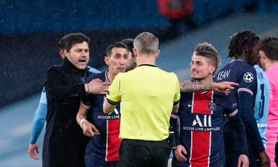 """City/PSG - Verratti évoque la déception et le """"beau parcours"""" et les insultes de l'arbitre"""