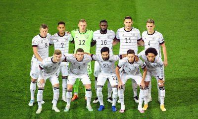 Euro - La liste de l'Allemagne, Draxler et Kehrer de côté
