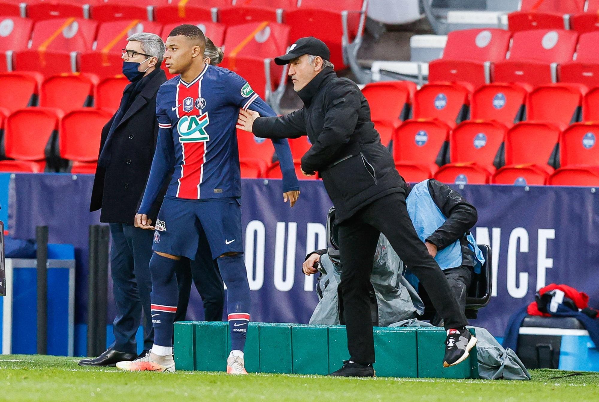 Galtier et Bamba réagissent à la déclaration de Mbappé sur le titre en Ligue 1