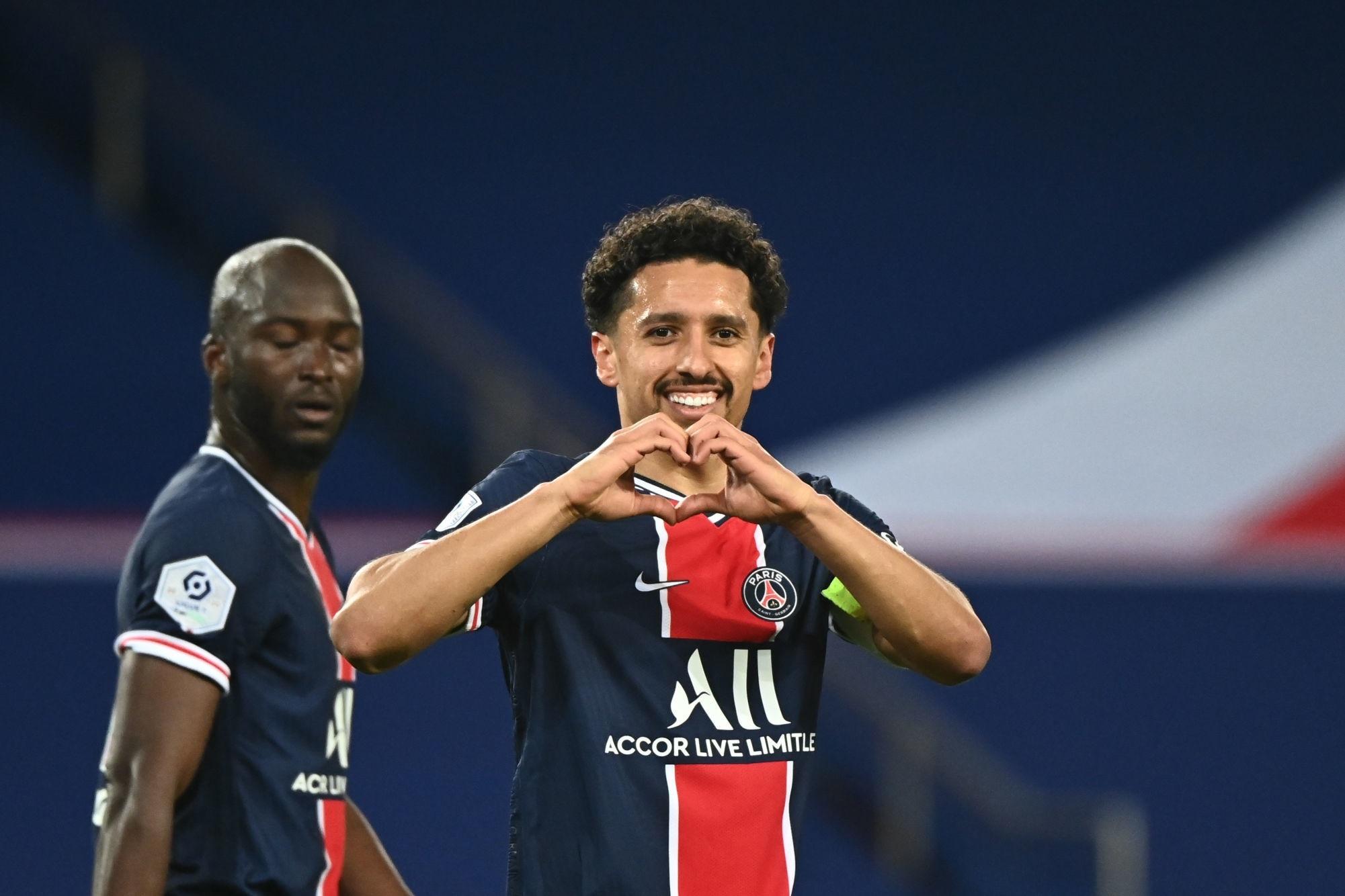 PSG/Reims - Marquinhos élu meilleur joueur par les supporters parisiens