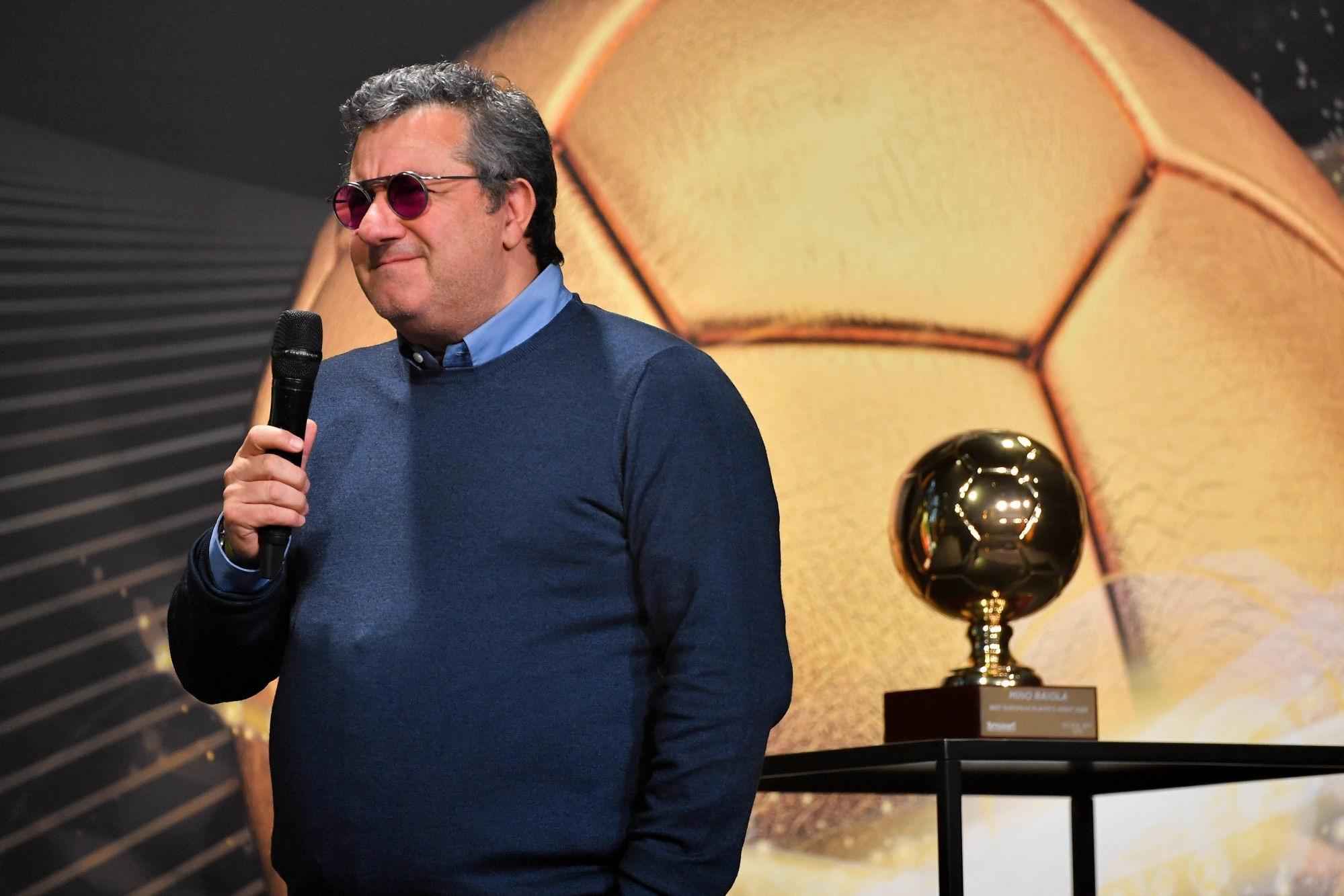 Raiola revient sur ses propos, «dans l'interview, j'ai félicité le PSG»