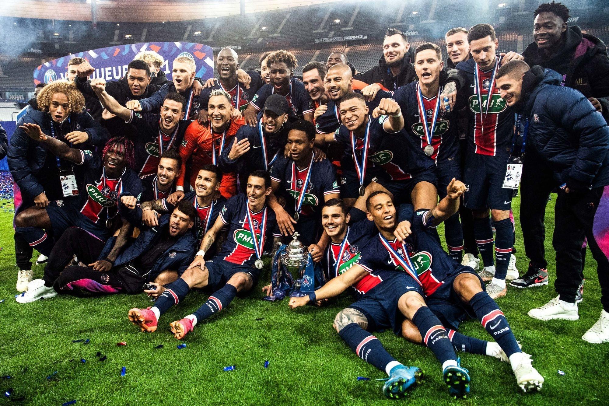 Monaco/PSG - Revivez la finale remportée au plus près des joueurs parisiens