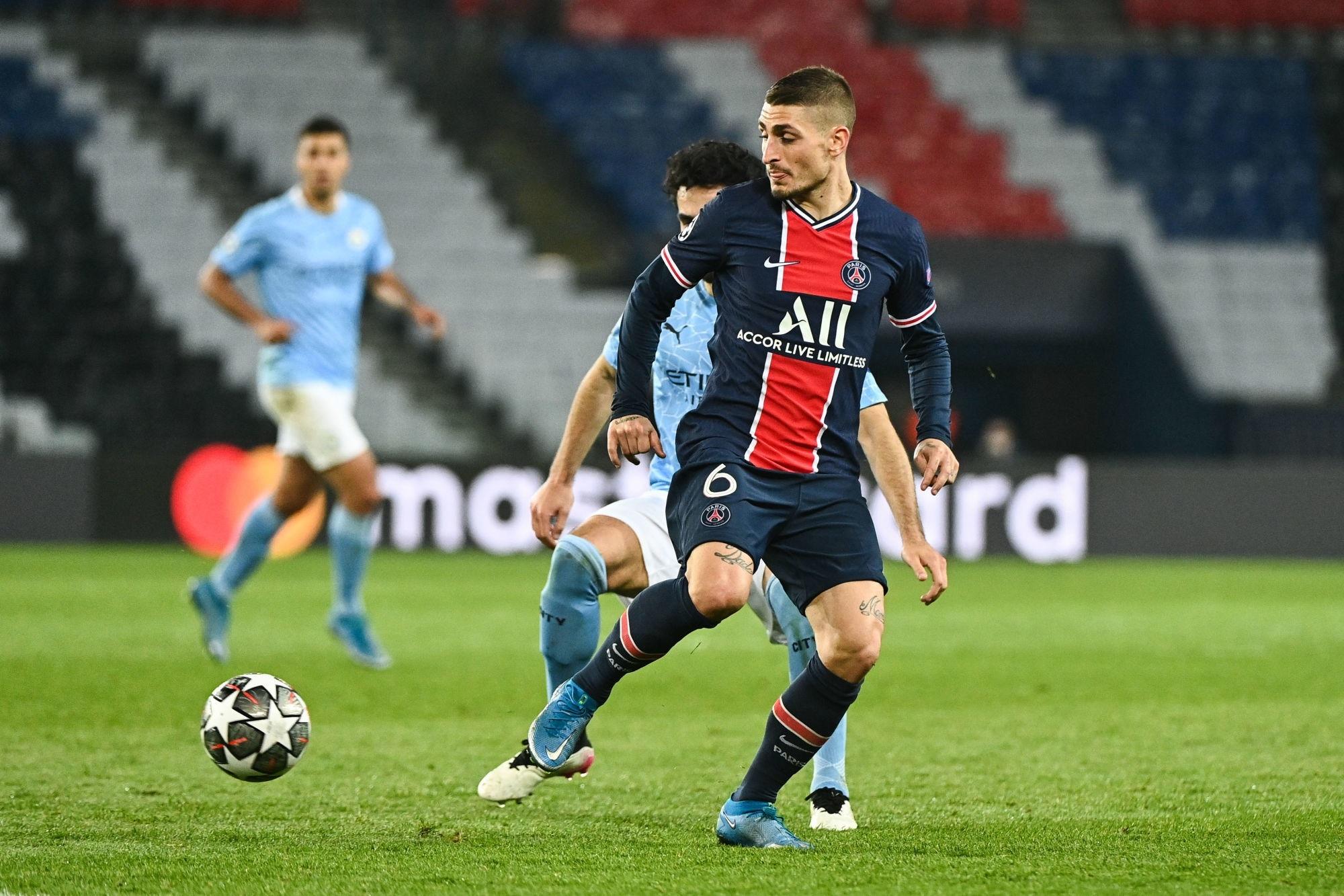 """City/PSG - Verratti a regardé la demi-finale aller """"4 fois"""" et évoque les clefs du match"""