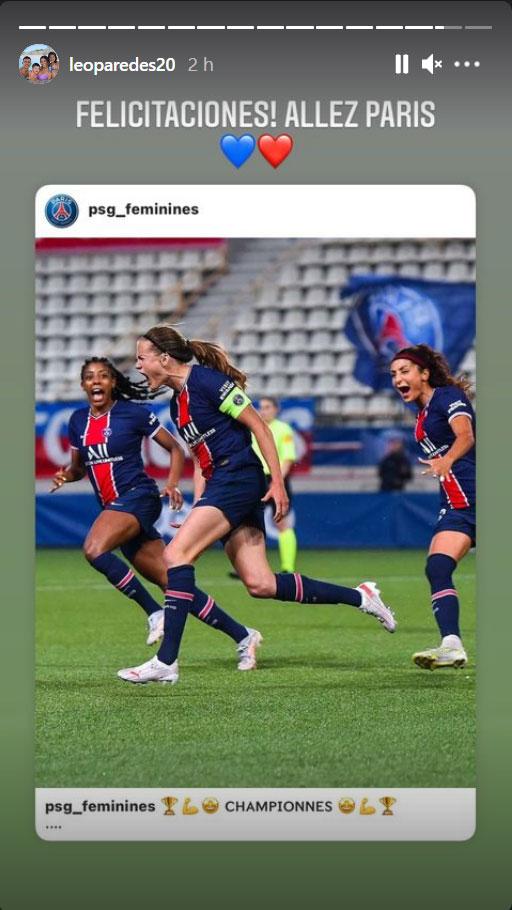 Les images du PSG ce vendredi: Championne de D1 et match internationaux