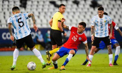 Argentine/Chili - Paredes et Di Maria n'ont pas pu éviter le match nul