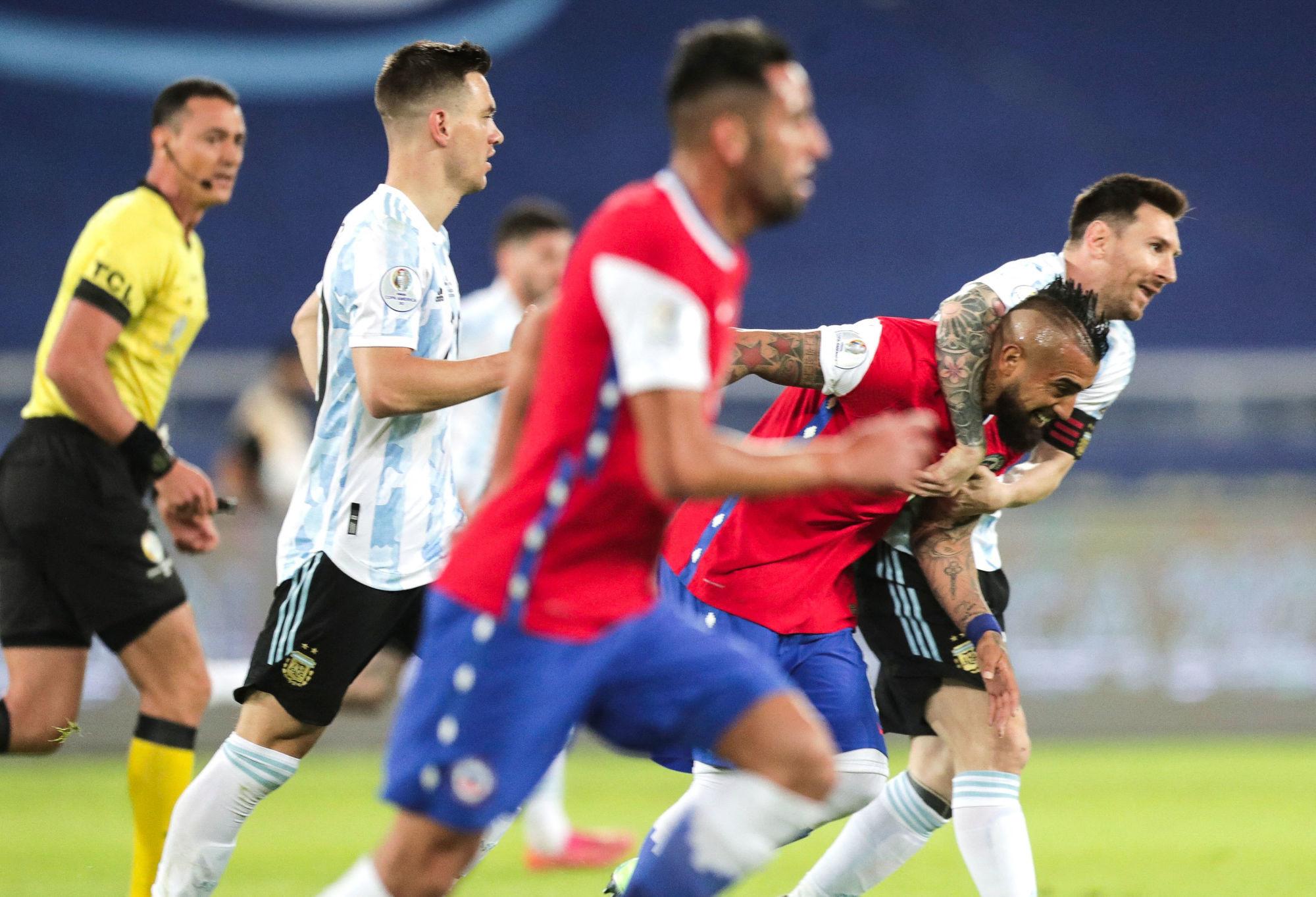 Résumé Argentine/Chili (1-1): La vidéo avec les buts