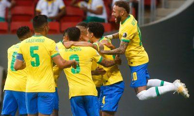 Brésil/Venezuela - Marquinhos et Neymar marquent lors de la victoire brésilienne