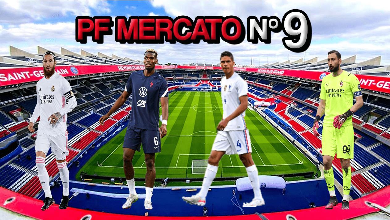 Podcast PSG - Ramos, Varane, Pogba et Donnarumma, on fait le point mercato