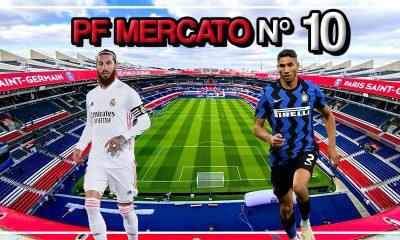 Podcast PSG - Sergio Ramos et Hakimi bientôt Parisiens ? On fait le point